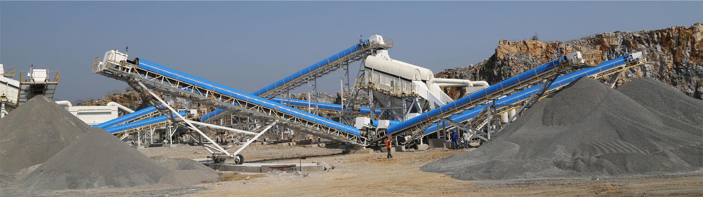 山美制砂生产线及设备